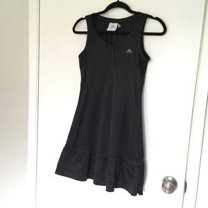 Adidas black tennis dress